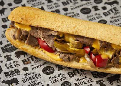 Gluten Free Cheesesteak